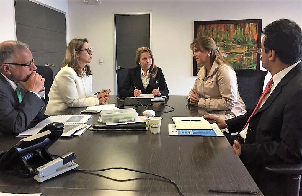 Reunión de trabajo entre la Organización Iberoamericana de Seguridad Social - OISS y el Ministerio de Trabajo de Colombia