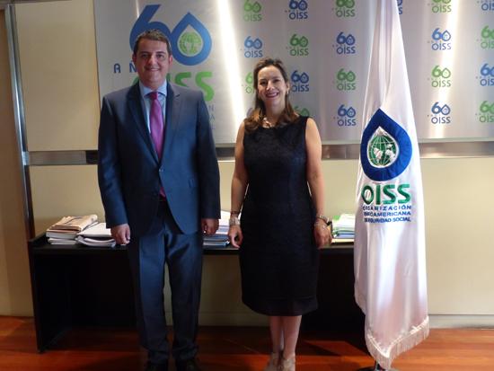 Reunión Secretaria General OISS y Secretario General COMJIB