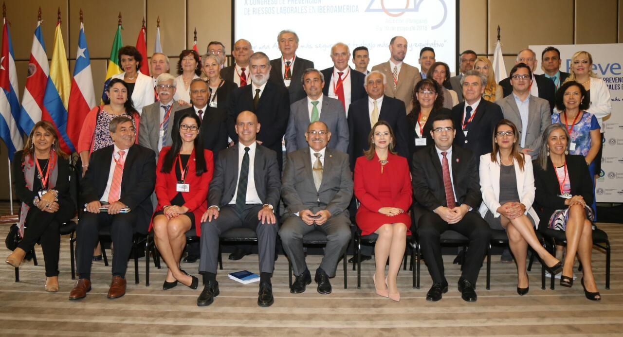 Foto de grupo - Clausura de PREVENCIA 2018 - Paraguay