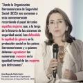 """Mensaje de la Secretaria General de la OISS con ocasión del """"Día Internacional de la Mujer""""."""