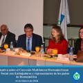 Embajadores y representaciones diplomáticas de países iberoamericanos en España, conocieron la situación actual del Convenio Multilateral Iberoamericano de Seguridad Social.