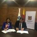 Firma convenio de cooperación OISS-FONSEP