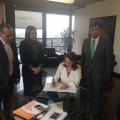 Firma Convenio entre la OISS y Positiva Compañia de Seguros de Colombia