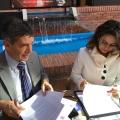 Firma Convenio OISS y el Ministerio para el Postconflicto, Derechos Humanos y Seguridad de Colombia