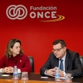 Visita institucional de la OISS a la ONCE
