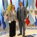 Visita del Embajador de República Dominicana en España a la Secretaría General de la OISS.