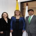 Reunión con la Superintendente del Subsidio Familiar de Colombia