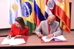 El Tribunal Constitucional de República Dominicana y la OISS suscriben acuerdo de cooperación
