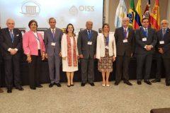En el marco de la celebración del 65 aniversario de la OISS, se llevó a cabo el III Seminario Iberoamericano sobre la Constitucionalización de la Seguridad Social