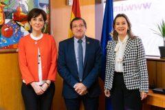La secretaria general de la OISS visita al director general de IMSERSO en Madrid