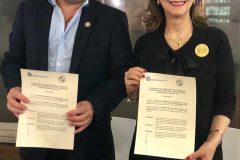 El Instituto de Previsión Social de Paraguay y la Organización Iberoamericana de Seguridad Social, firman Convenio de Colaboración
