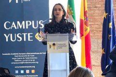 La secretaria general de la OISS participa en la versión 2019 del programa CAMPUS YUSTE