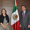 Reunión con el Secretario General del ISSSte en México