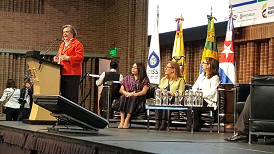La Ministra de Trabajo de Colombia, Clara López