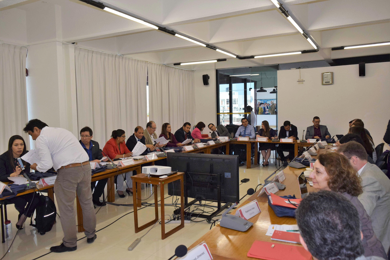 Foto en desarrollo de un taller del curso
