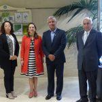 Reunión OISS, Ministerio de Trabajo y Seguridad Social de Costa Rica y Caja Costarricense de Seguro Social