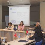 Presentación del Convenio por parte de la Secretaria General de la OISS, Gina Magnolia Riaño Barón