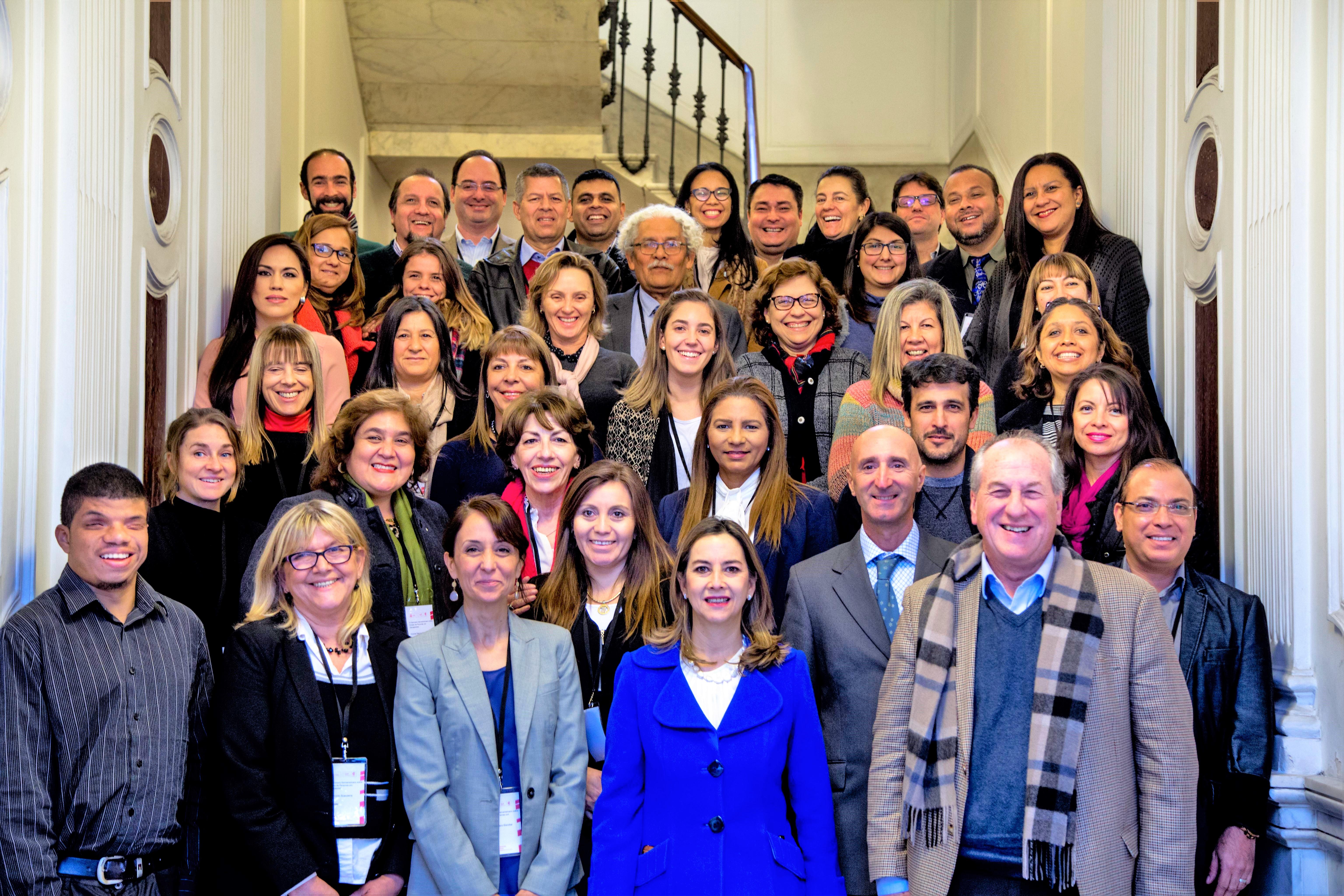 Foto de grupo del Seminario