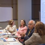 El Vicesecretario General de la OISS, Francisco. M. Jacob Sánchez, explicando los principios y alcance del Convenio