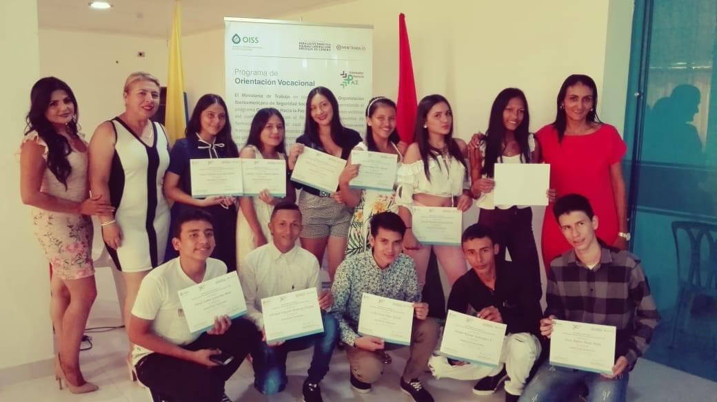 Entrega de Certificaciones a Jovenes en Arauca - Colombia
