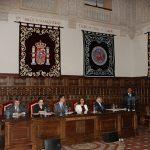 El representante de los estudiantes del Máster en Prrevención y Protección de Riesgos Laborales, Odilón Fernández
