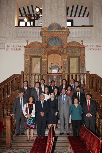 Foto de Grupo del Máster en Dirección y Gestión de Planes y Fondos de Pensiones