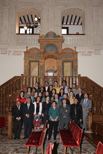 Foto de grupo del Máster en Prevención y Protección de Riesgos Laborales
