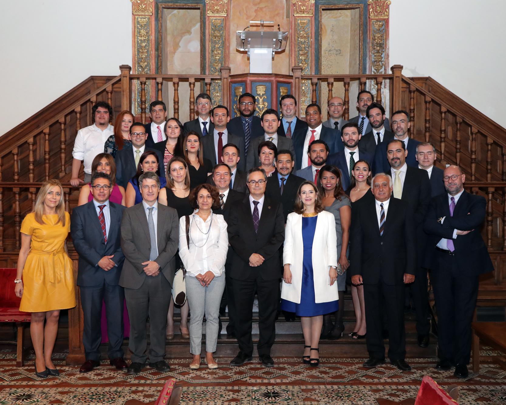 Foto de familia del Máster