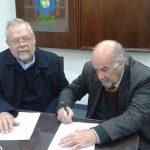 Director Regional OISS, Dr. Carlos Alberto Garavelli, y el Presidente de APESSNEA, Dr. Gustavo Otaño.