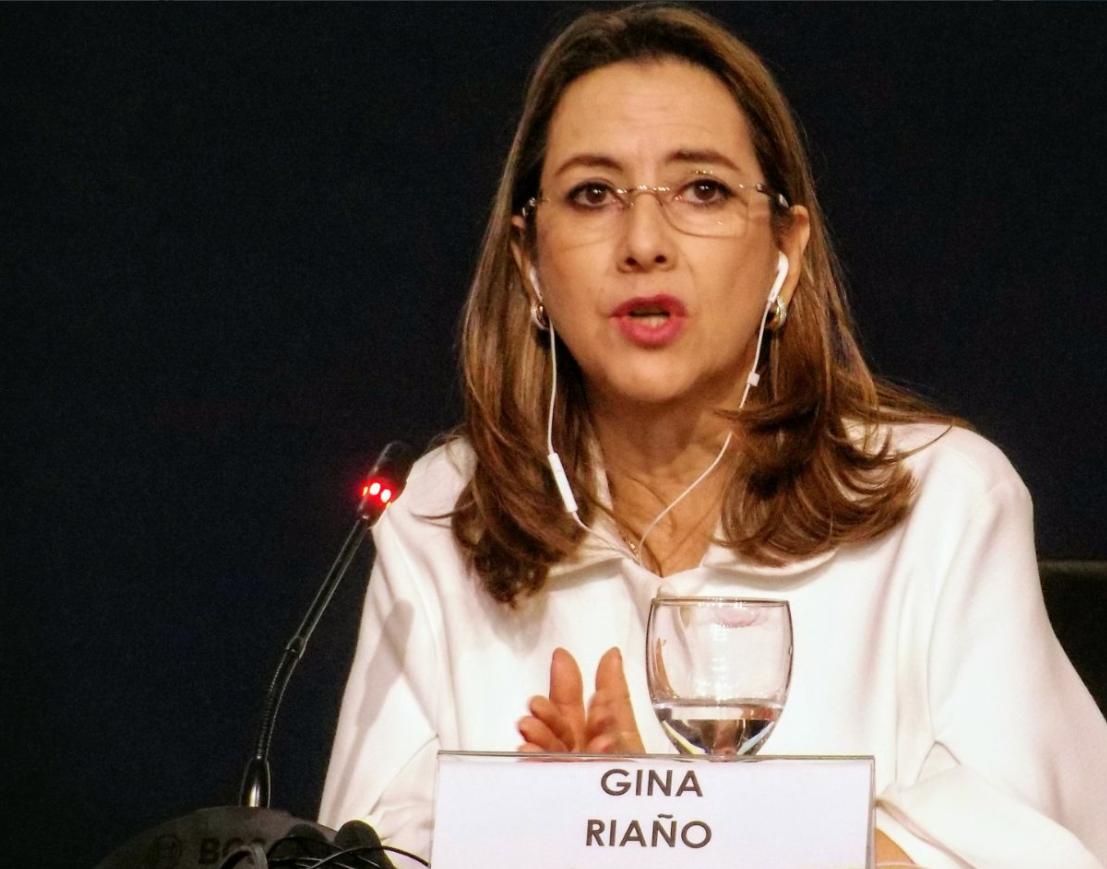 Secretaria General de la OISS, Gina Magnolia Riaño Barón