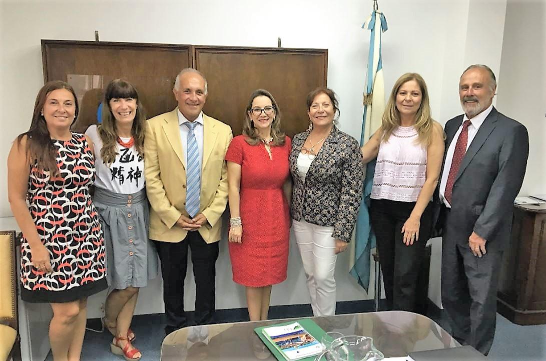Foto de familia de la reunión