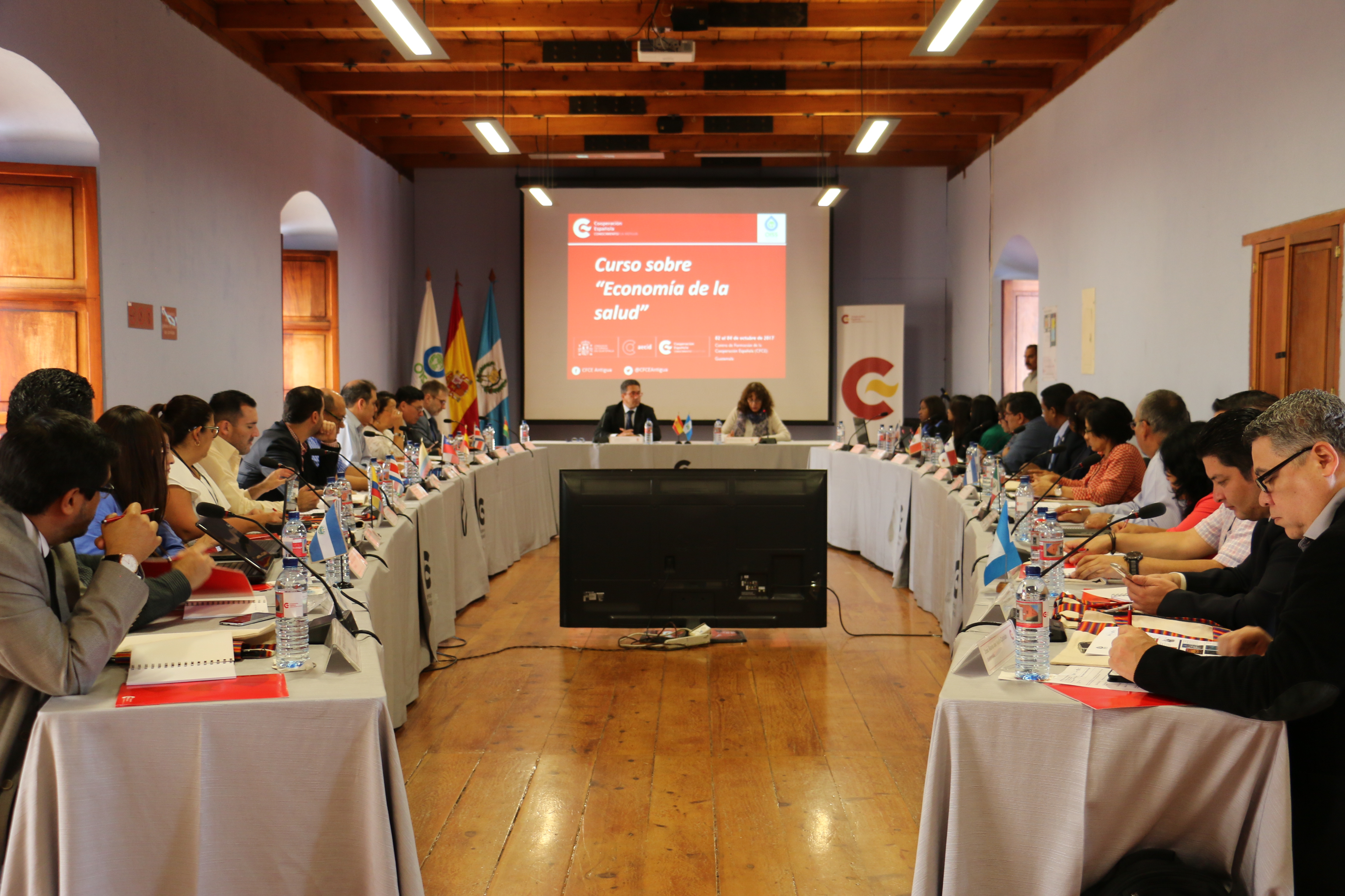 Foto de instalación del curso