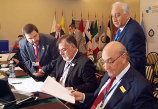 Firma de la Declaración de Iquique.