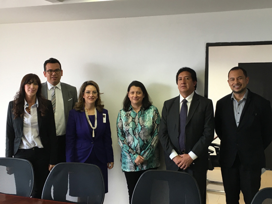 Foto reunión OISS- Minsalud y Protección Social