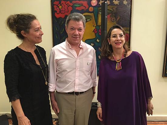 Encuentro de la Secretaria General de la OISS con el Presidente de Colombia en el marco de la IX Conferencia de Ministros
