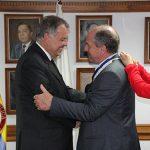 Acto de imposición de la medalla al Presidente de la OISS