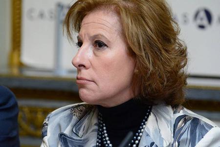 María Eugenia Martín Mendizába, Directora general del Instituto Nacional de la Seguridad Social y vicepresidenta de la OISS