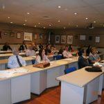 Alumnos asistentes a lafase presencial de la XII edición del Máster en Prevención y Protección de Riesgos Laborales