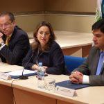 La Secretaria General de la OISS en su Intervención