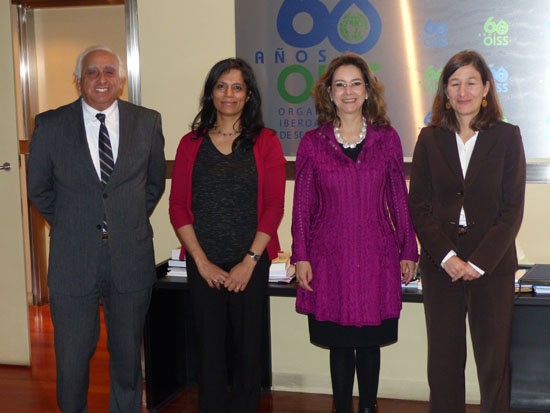 Visita de la nueva Coordinadora Iberoamericana de Portugal