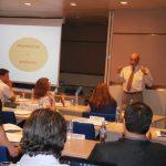 Adolfo Jiménez Fernández, Secretario General de la OISS, hace unas reflesiones sobre la Seguridad Social y diserta sobre el Convenio Multilateral Iberoamericano de Seguridad Social