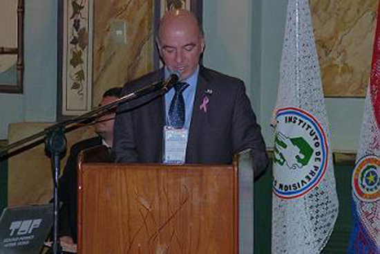 Luis Alberto López González, Presidente del IPS y Presidente de la Organización Iberoamericana de Seguridad Social
