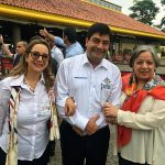 En la foto de izquierda a derecha: La secretaria general de la OISS, Gina Magnolia Riaño Barón, el Viceprocurador General de la Nación, Juan Carlos Cortés y la Vicefiscal General de la Nación, María Paulina Riveros Dueñas
