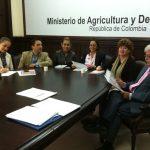 Reunión Convenio Organización Iberoamericana de Seguridad Social, Ministerio de Agricultura y Desarrollo Rural de Colombia