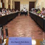 Foto en desarrollo de la reunión de trabajo