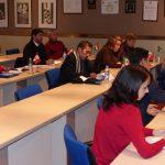 En la foto los participantes en el módulo