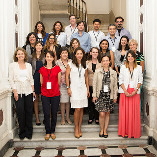 Foto de participantes en el Taller