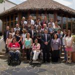 En la foto los participantes en el II Seminario sobre Empleo de Personas con Discapacidad en Iberoamérica