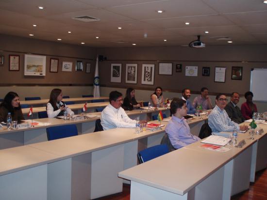 Asistentes a la fase presencial del X Master en Dirección y Gestión de Planes y Fondos de Pensiones