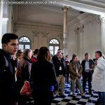 Visita de los participantes del Curso al Hospital Maciel, Montevideo
